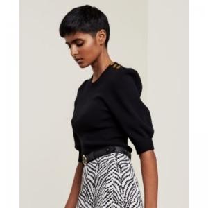 Lillian Short Sleeve Black