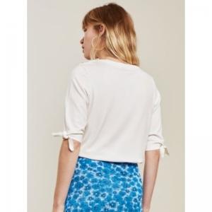 Molly Short Sleeve Cream White