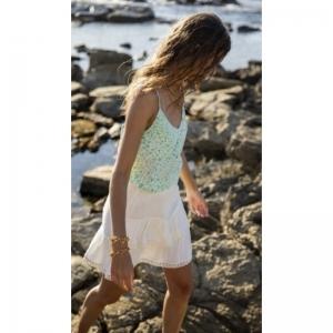 Lora Tess Cream White/Sea